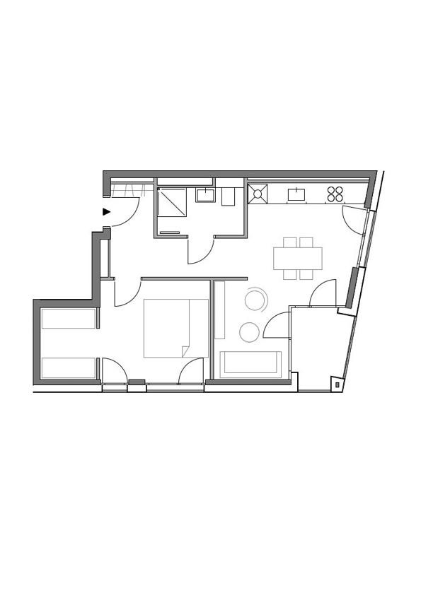 A2 - Whg. 5 - 2 Zimmer