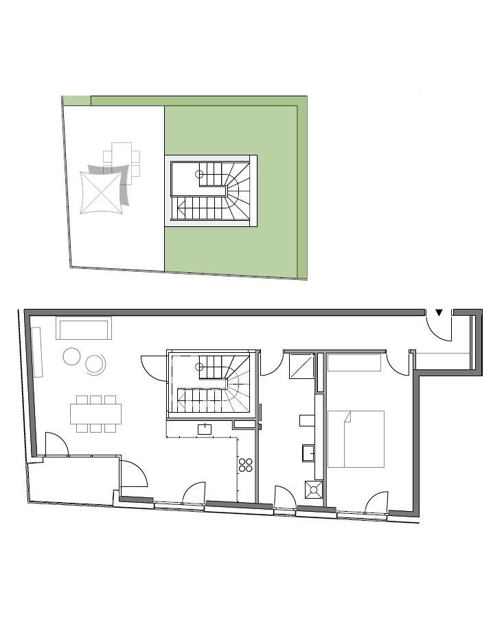 A2 - Whg. 28 - 2 Zimmer