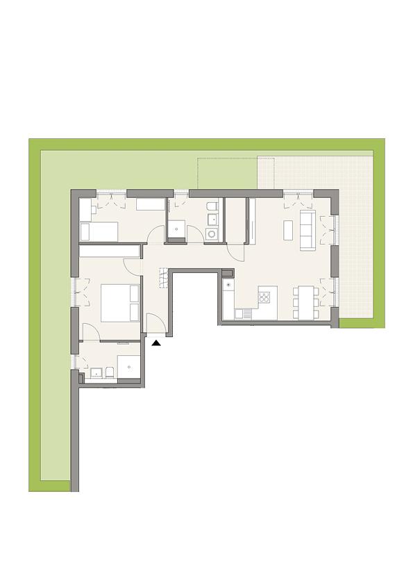 A3 - Whg. 29 - 3 Zimmer
