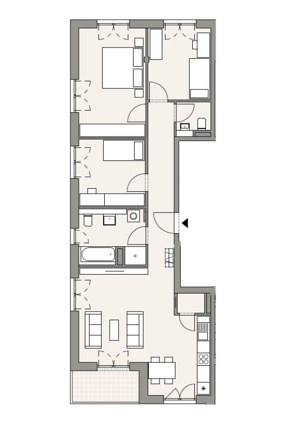 A3 - Whg. 43 - 4 Zimmer