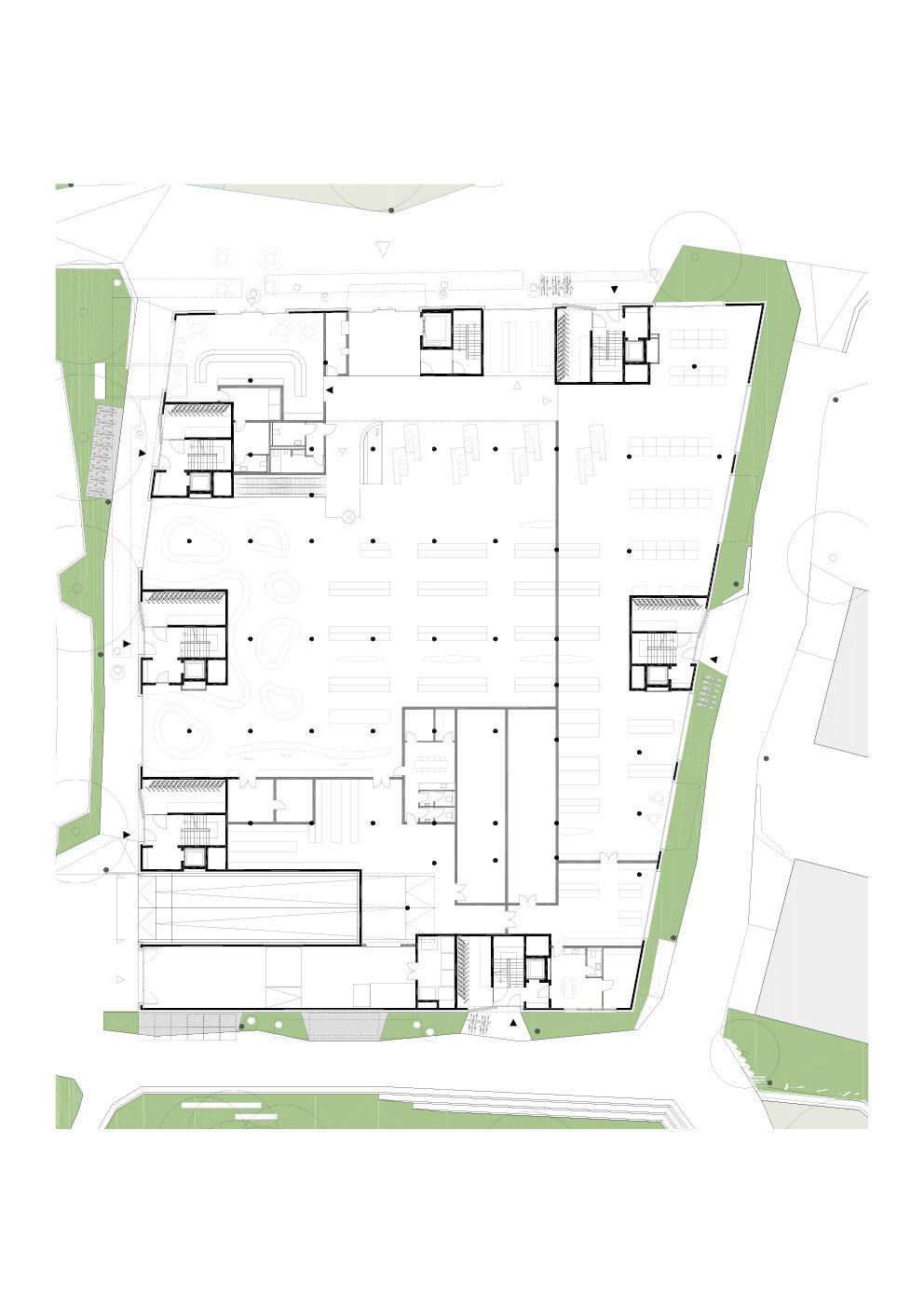 A2 - 2.343 m² - Markthalle EG