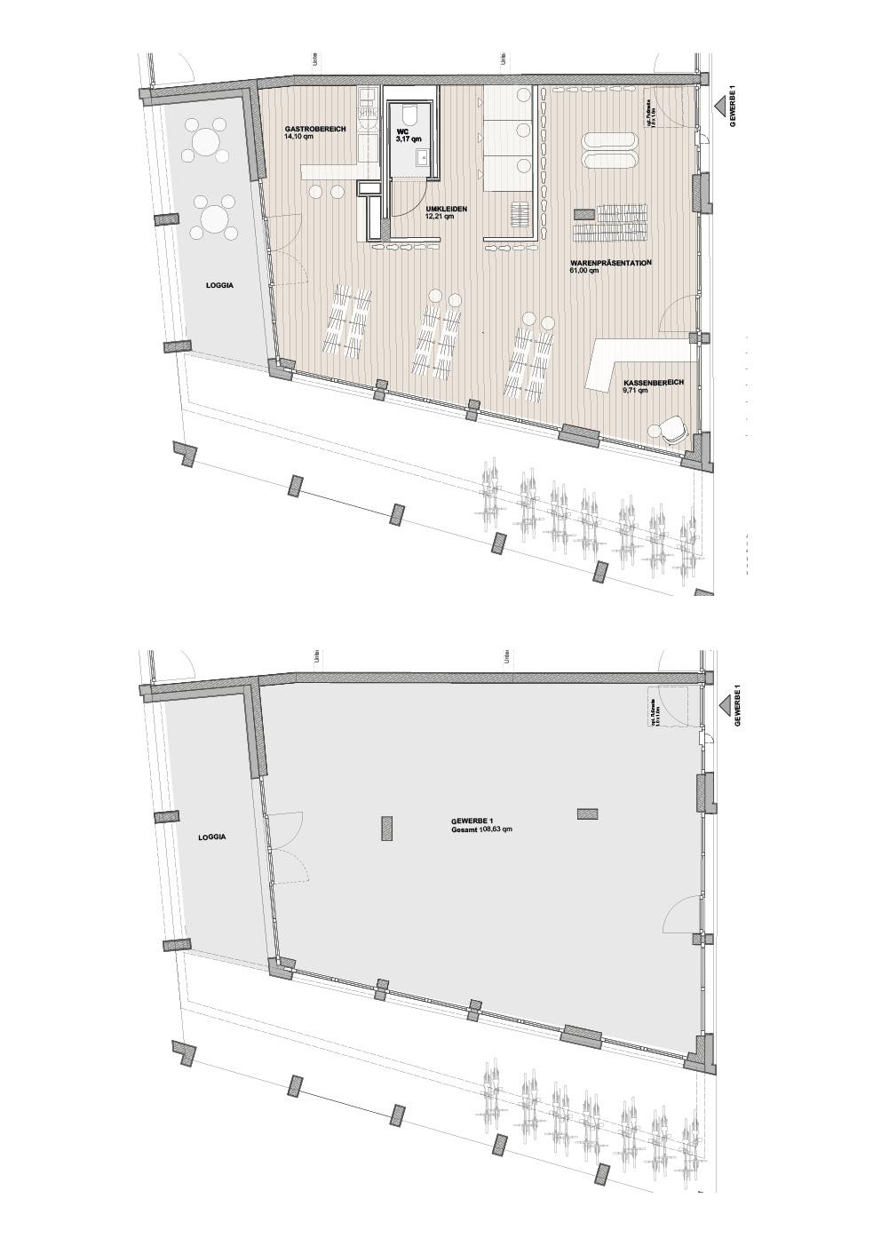 A1 Süd - Einheit 1 - 108,63 m² - EG