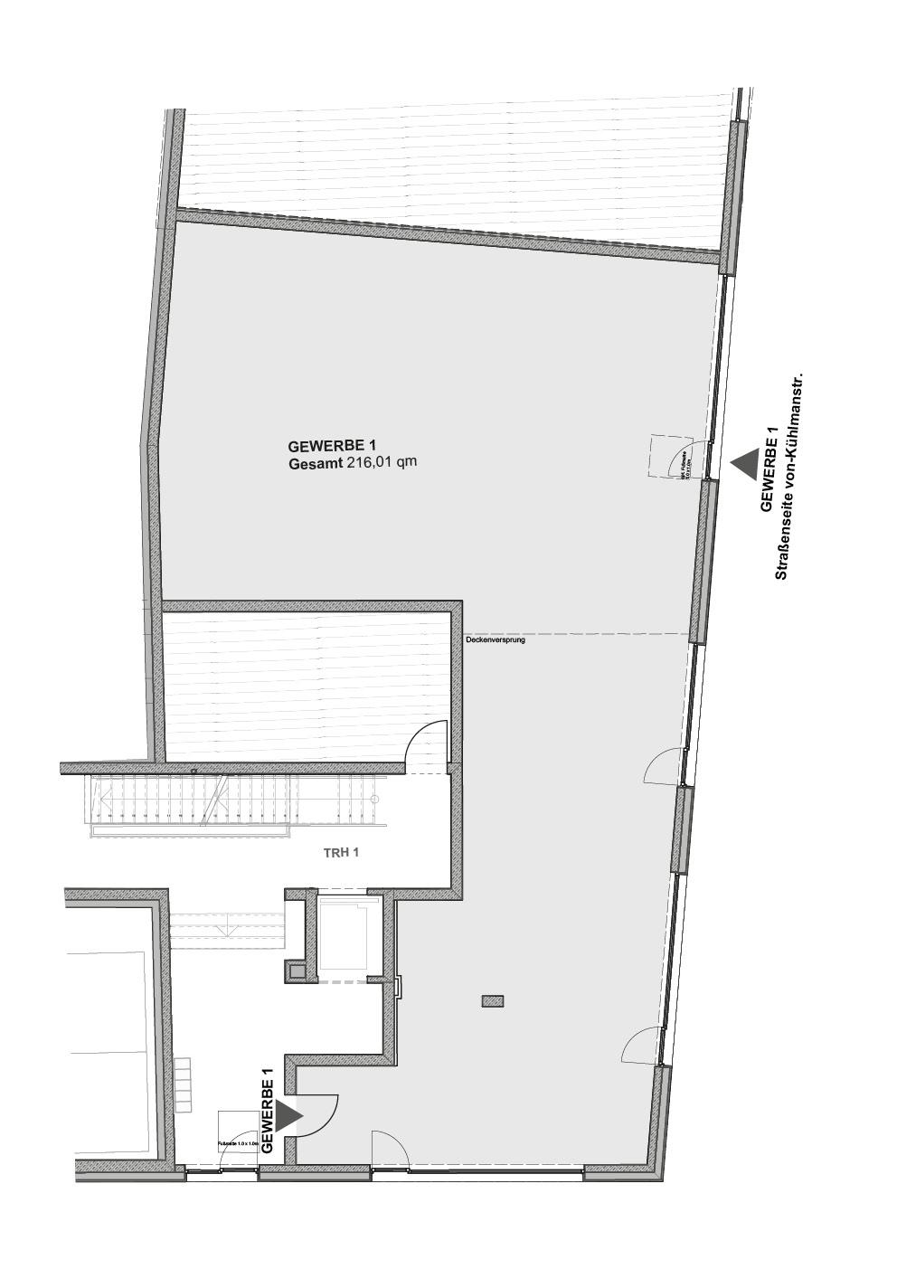 B2 - Einheit 1 - 216,06 m² - EG