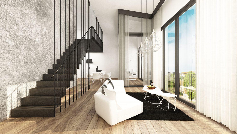 Wohnung Wohnraum A1
